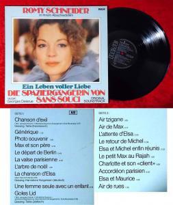 LP Die Spaziergängerin von Sans-Souci - Romy Schneider (RCA PL 37634) D 1982