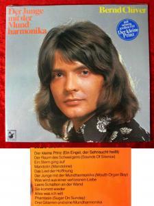 LP Bernd Clüver: Der Junge mit der Mundharmonika (Hansa 87 064 IT) D 1973