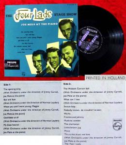 25cm LP Four Lads: Stage Show