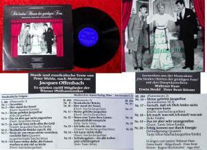 LP Die beiden Herren der gnädigen Frau 1982 Signiert