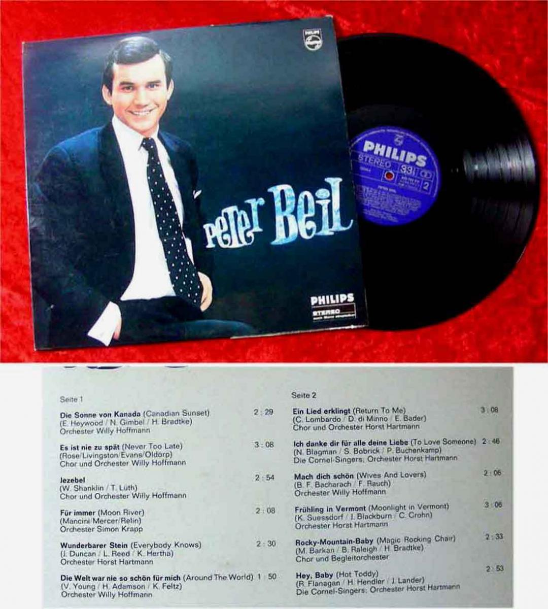LP Peter Beil (Philips Stereo 843 797 PY) D 1966 0