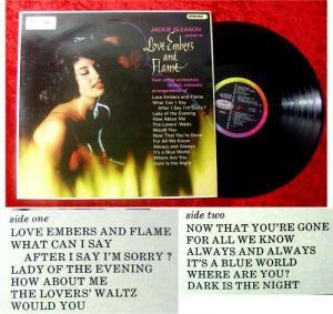 LP Jackie Gleason Love Embers and Flame