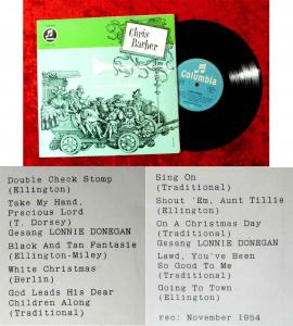 25cm LP Chris Barber (Columbia C 60 554) D 1960