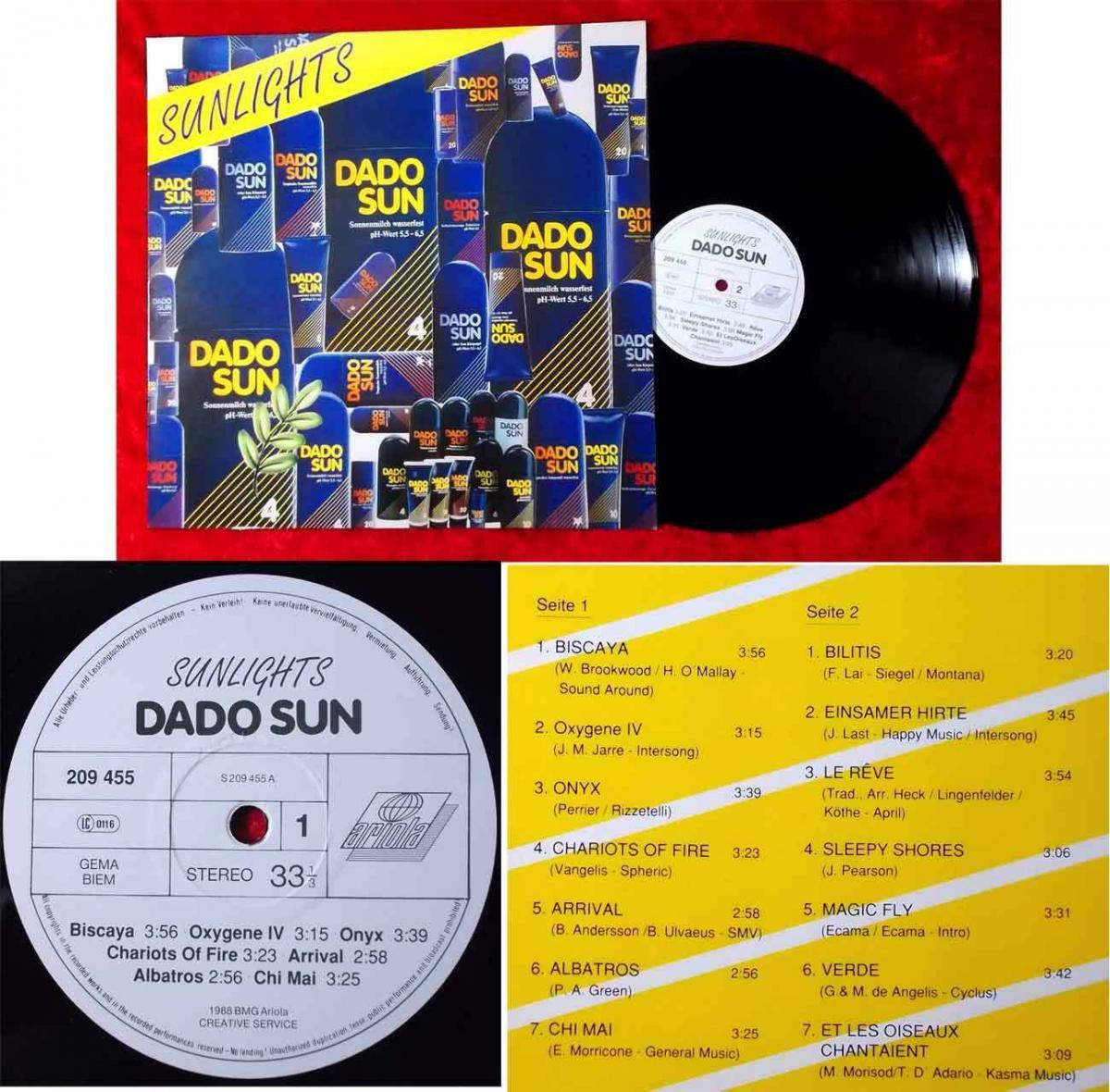 LP Sunlights (Ariola 209 455) D 1988 0