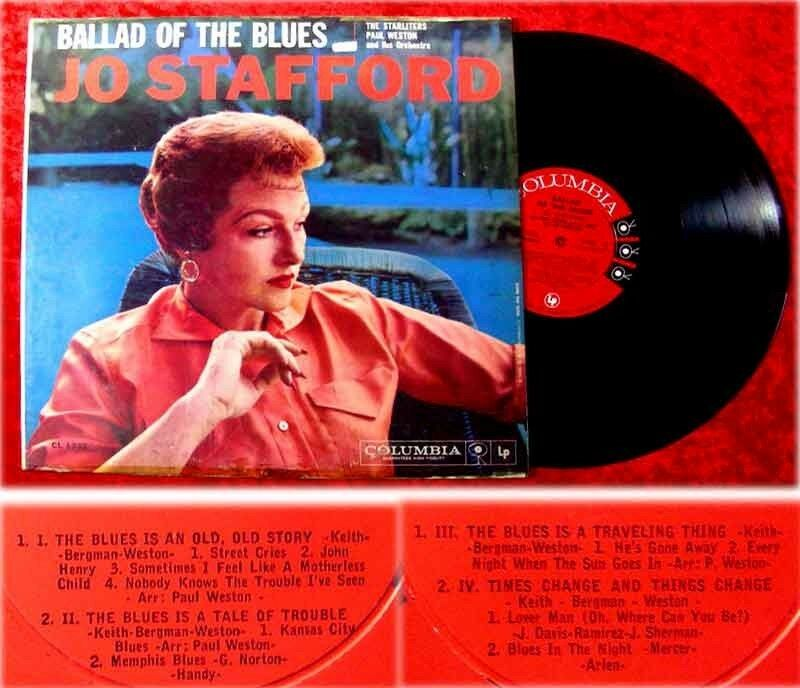 LP Jo Stafford Ballad of the Blues 0