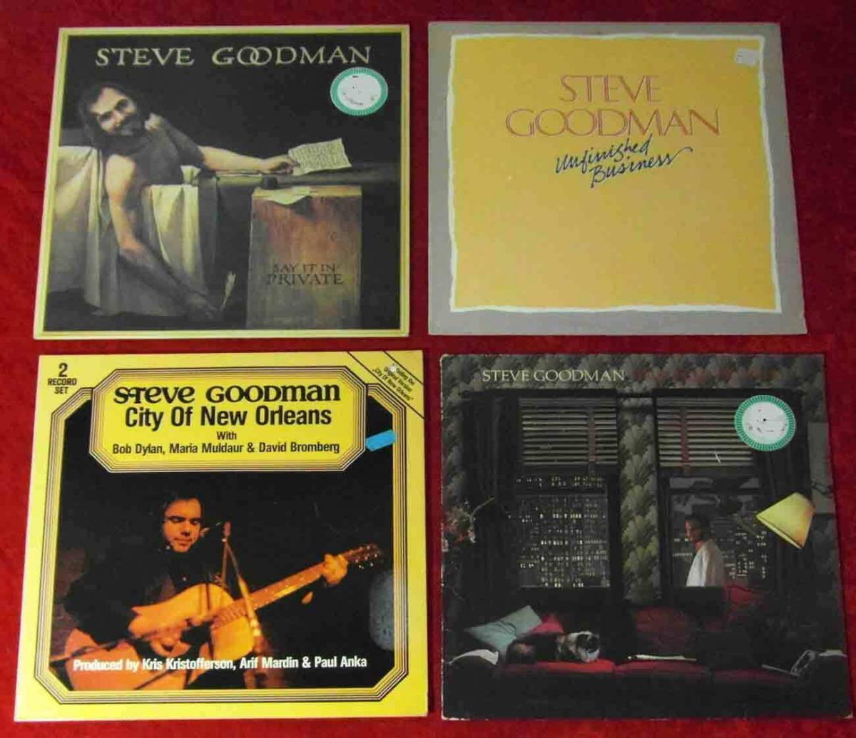 5 Langspielplatten STEVE GOODMAN  - Vinylsammlung - 0