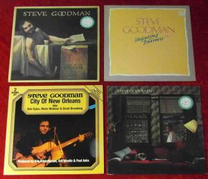 5 Langspielplatten STEVE GOODMAN  - Vinylsammlung -