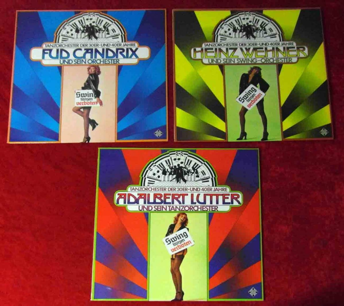 3 Langspielplatten Swing Tanzen Verboten  - Vinylsammlung - 0