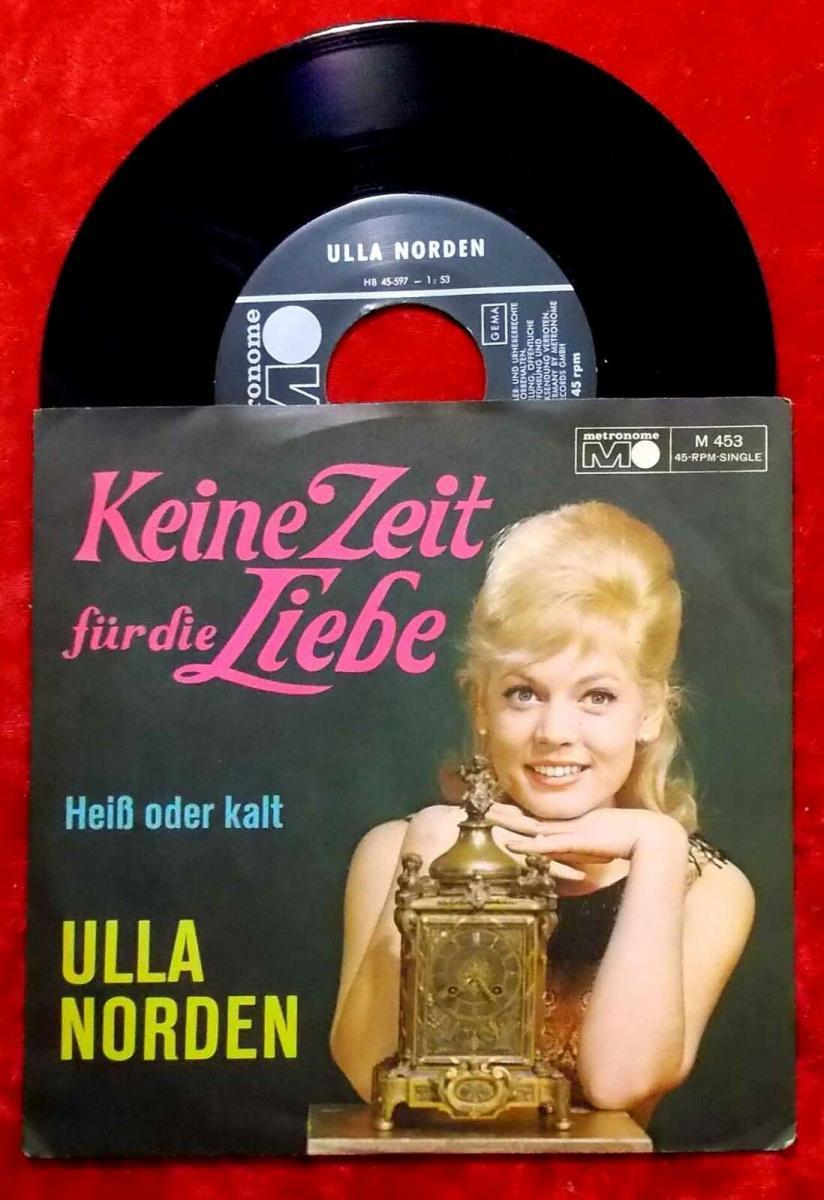 Single Ulla Norden: Keine Zeit für die Liebe (Metronome M