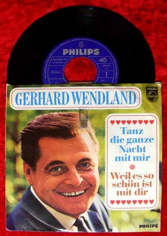 Single Gerhard Wendland: Tanz die ganze Nacht mit mir Nr