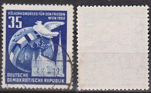 Wien Stephansdom Erdkugel 35 Pf. Völkerkongress für Frieden Germany East DDR 321