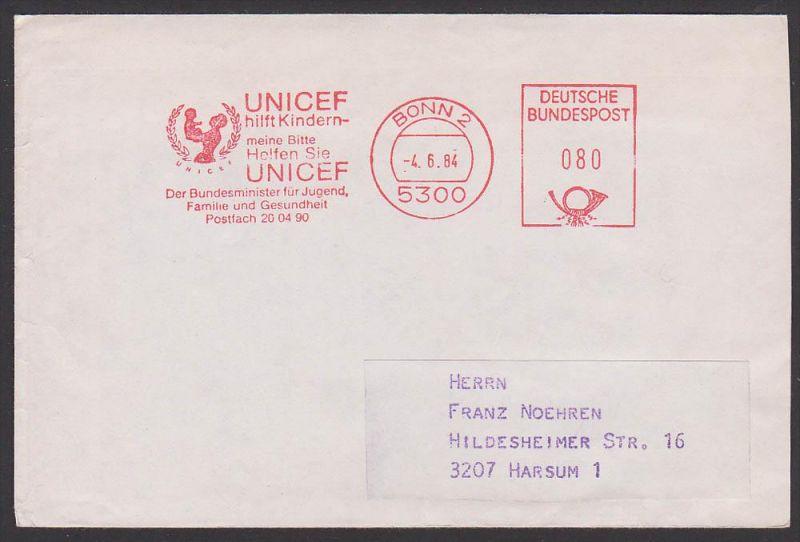 UNICEF Bonn AFS Bundesminister für Jugend, Familie und Gesundheit 1984, Mutter mit Kind