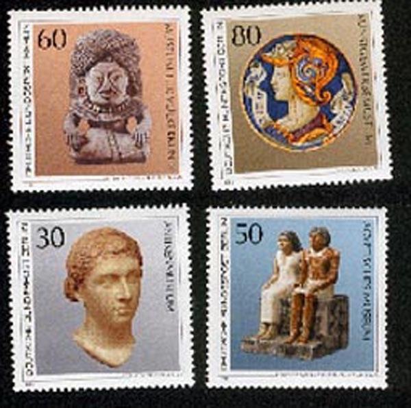 Germany BERLIN West  **, Antikenmuseum Kunstgewerbe, Völkerkunde Ägyptisches Museum, Giza, Königin Kleopatra