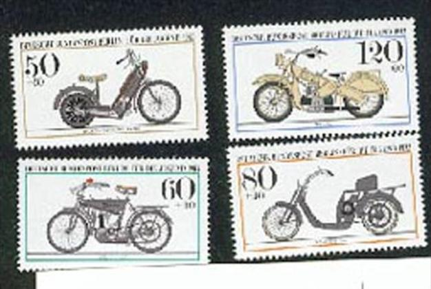 Germany BERLIN West  694/97**, Motorrad, Oldtimer