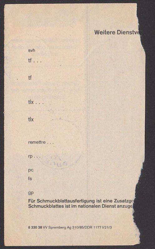 Telegramm Abschnitt Mit 50 Pf Karl Marx Le Capital Das Kapital
