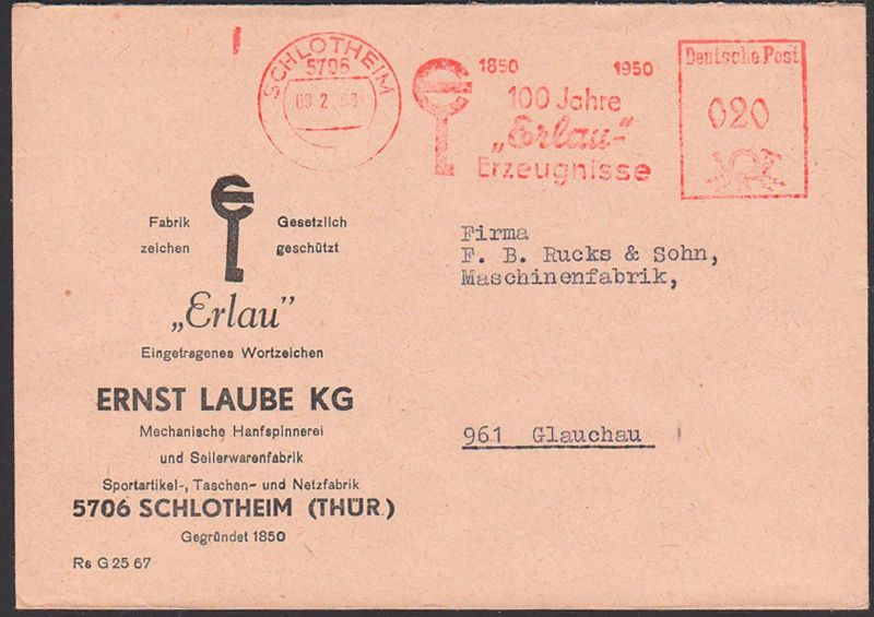 Schlotheim Germany DDR AFS 9.2.68