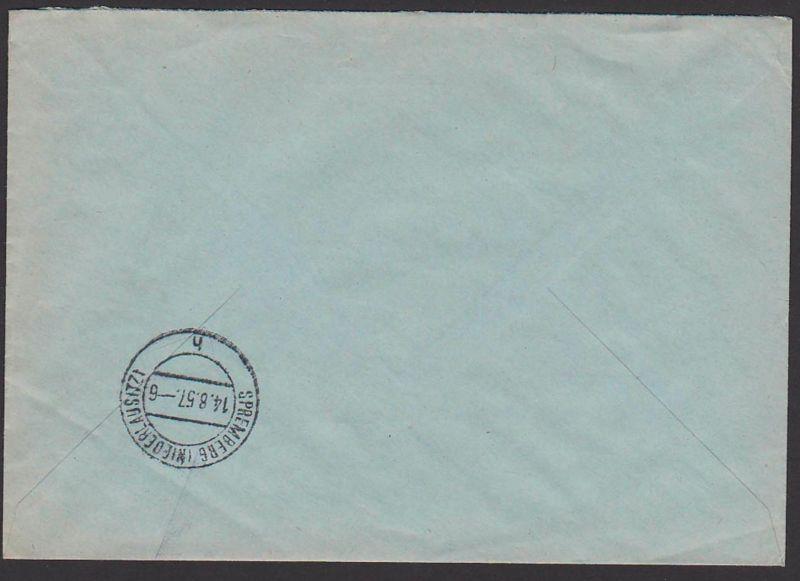 Ddr Postsache R Brief Dresden A24 Briefstempel Nach Spremberg 138