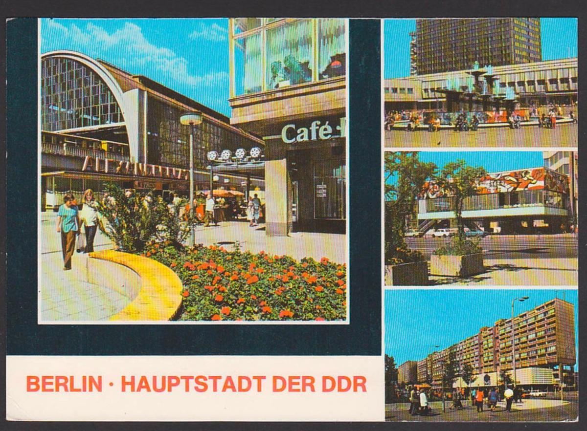 Johann Sebastin Bach Ehrung in der DDR, Marke aus Block 81 Karte MWSt. Berlin Friedrichsfelde, mit Bachs letzte Handschr 1