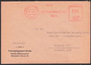 Berlin Wilmersdorf, AFS 7.3.57 Landesversorgungsamt nbach Leipzig