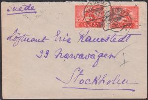 Polska POLEN Brief 1921 nach Suede Stockholm aus Warschau Warszawa