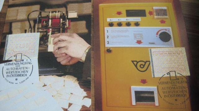 ATM MK Maximumkarten Österreich 1983