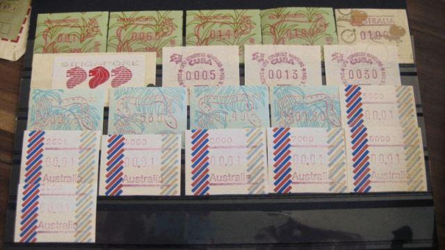 ATM Hong Kong, Australien, Singapur, Cuba **