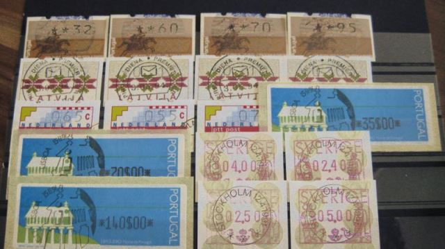 ATM Portugal, Schweden, Niederlande, Lettland (T10)