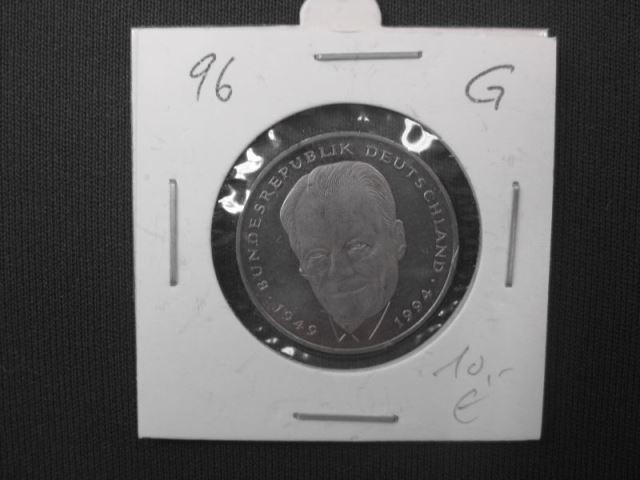 2 DM Willy Brandt 1996 G stg