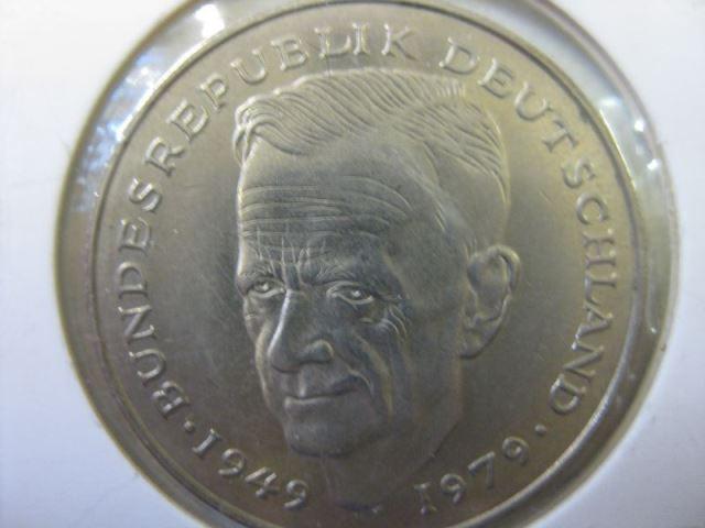2 Dm Münze Kurt Schumacher 1979 G Stg Oldthing Brd Dm Gedenkmünzen