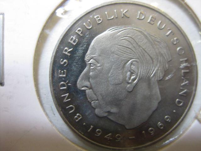 2 Dm Münze Theodor Heuss 1977 F Pp Oldthing Brd Dm Gedenkmünzen