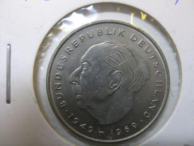 2 Dm Münze Theodor Heuss 1983 D Stg Oldthing Brd Dm Gedenkmünzen