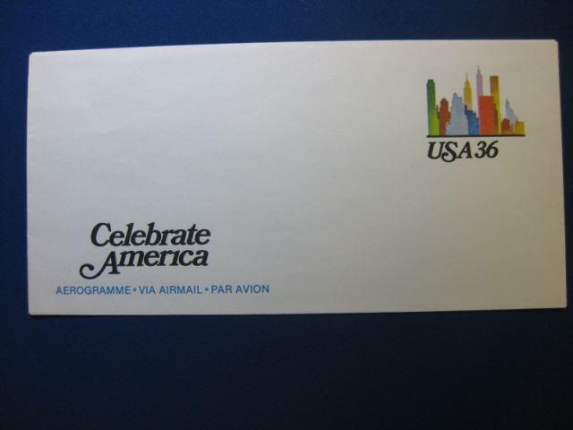 USA Ganzsache 1984 36 c