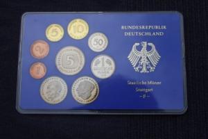 Kursmünzensatz 1978 F, PP, Spiegelglanz