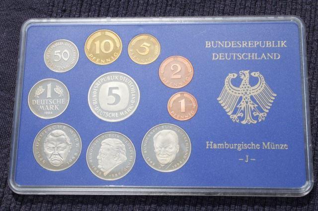 DM Kursmünzensatz, PP, 1994 J