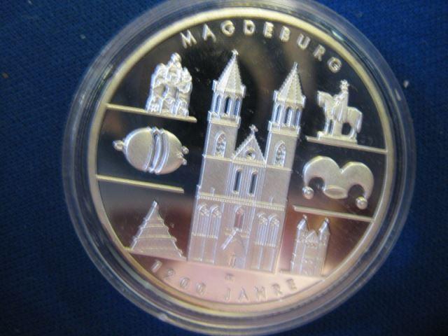 10 EURO Silbermünze 1200 Jahre Magdeburg
