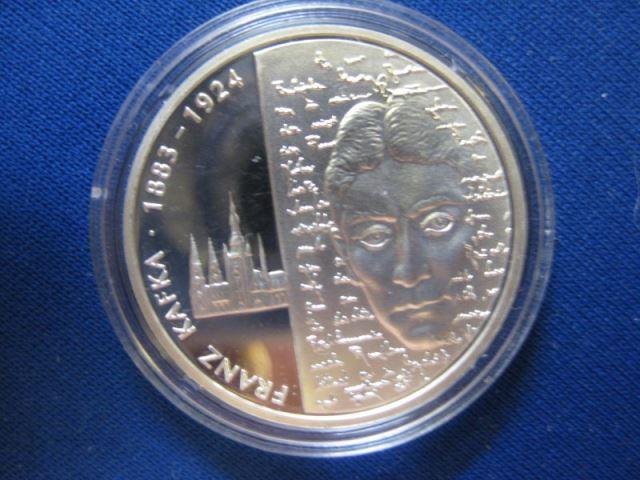 10 EURO Silbermünze 125. Geburtstag Franz Kafka