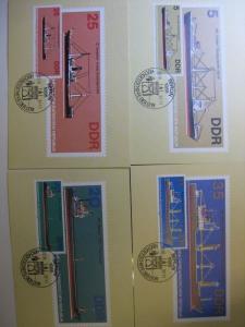 Maximumkarte MK Schiffe Hochseeschiffe 1982