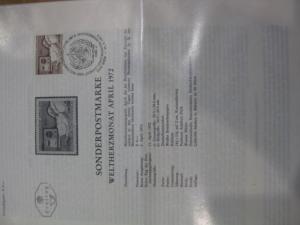 Amtliches Ersttagsblatt ETB der POST Österreich Weltherzmonat