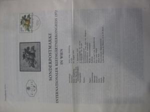 Amtliches Ersttagsblatt ETB der POST Österreich Intern. Kleingärtnerkongress in Wien