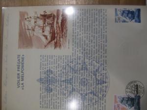 Document Philatelique Officiel - Amtliches Ersttagsblatt ETB der POST:Großsegelschiffe