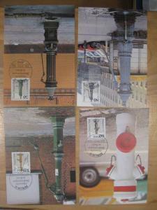 Maximumkarten MK Historische Straßenpumpen in Berlin1983