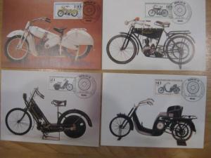 Maximumkarten MK Für die Jugend 1983 Historische Motorräder