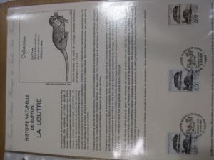 Document Philatelique Officiel - Amtliches Ersttagsblatt ETB der POST:Tierzeichnungen von Leclerc