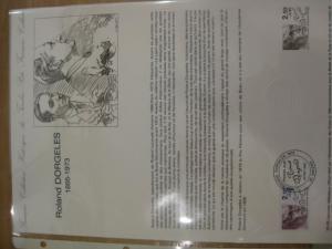 Document Philatelique Officiel - Amtliches Ersttagsblatt ETB der POST:Berühmte Persönlichkeiten