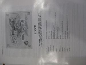 Amtliches Erläuterungsblatt ETB der POST Österreich:KSZE-Block