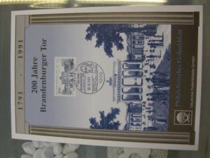 Philatelistisches Gedenkblatt 200 Jahre Brandenburger Tor