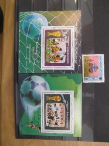 Ausgabe zur Fußball-WM 1986 in Mexico: Libyen - Arab. Jamahiriya