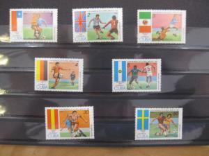 Ausgabe zur Fußball-WM 1986 in Mexiko:  Kuba Cuba