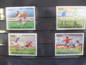 Ausgabe zur Fußball-WM 1986 in Mexiko:  Niger