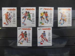 Ausgabe zur Fußball-WM 1986 in Mexiko: Rwanda